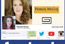 Connect on Social Media! / by Pamela McCoy