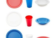 Party tableware / Polycarbonate tableware- reusable, virtually unbreakable and eco-friendly!  Great for parties