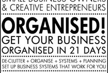 Business Organised! / GET YOUR BUSINESS ORGANISED!