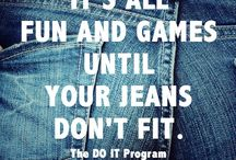 Slim down, tone up! / Exercising for fun!