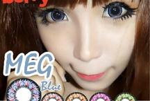Meg 16mm Berry Lenses / Shop now at http://shop.jeanmonique.com <3 Thanks loves! <3 #Anthea