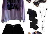 Pastel goth style inspiration