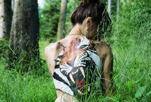Body Painting / Peinture corporelle, du plaisir pour les yeux !
