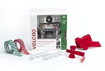 VELCRO® Brand Holiday Solutions / Want to get a jump start on decorating and organizing for the holiday season? We have creative, simple solutions to make decorating, hanging holiday lights and gift wrapping easy. Let VELCRO® Brand solutions help you enjoy the holidays, stress free and full of cheer.