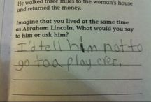 Makes me laugh / by Stina V