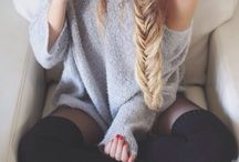 BEAUTY | HAIR / Waves. Braids. Hairstyle