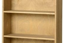 Pine Wood Bookcase Tall 1Drawer Unit Stand Living Room Cabinet Shelving Cupboard