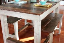 farmhouse pallet table