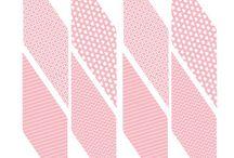 Розовые наборы
