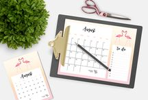 FREEBIES / My personal freebies : free printables and free wallpapers / Mes freebies : freebies gratuits à imprimer et fonds d'écran. Calendriers, fiches pratiques pour s'organiser, planners, to-do list, semainier, fonds d'écran,... / Calendars, organizer, schedule, meal planner, project sheets, to-do list, wallpapers,...