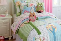 grandchildrens bedding/rooms