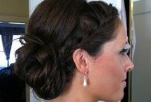 Sports hair / Twins hairdo's that stay in for dance, gymnastics, soccer, etc. / by Jill Ehat