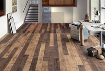 Modern Flooring ideas / Green flooring ideas are eco friendly and healthy, offering beautiful natural and recycled decorative materials for functional and modern interior design.