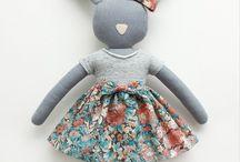 Fabrics dolls