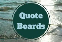 Quote Boards> / Funny, inspirational and timely quotation boards