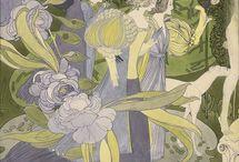 Georges de Feure / (фр. Georges de Feure; наст. имя Йозеф ван Слейтерс, нидерл. Joseph van Sluijters; род. 6 сентября 1868 г. Париж — ум. 26 ноября 1943 г. Париж) — французский художник, дизайнер и театральный декоратор.