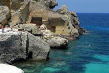 Favignana island, Sicily / Holiday - Sea - Italy - Sicily