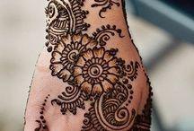 Tattoos / henna /  henna and some tattoos