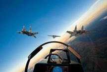 Vuelo / Aviones, cielos y vuelo