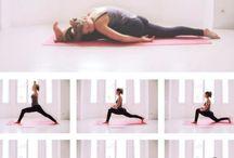 Yoga basic stretches