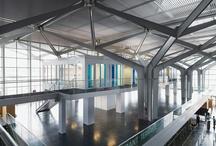 BUSINESS CENTER EUROAIRPORT / Projet lauréat Site : Aéroport de Bâle - Mulhouse, France Client : Chambre de Commerce et d'Industrie Sud Alsace Mulhouse Area : 580 m² Design Team : David Serero, Fabrice Zaini