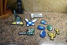 hama beads / Muestro todo tipo de hamas que voy haciendo, espero que os guste \o/