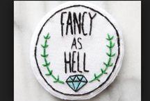 Patches n' Stuff / Ideas for De-Merit Badges