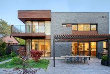 Эволюция строительсва / дома в современном стиле