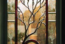 Beveled Glass Windows