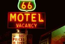 Old Motels & Route 66 / by Maria Elba Rendon Miller