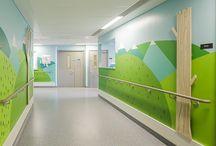 Mural in hospital