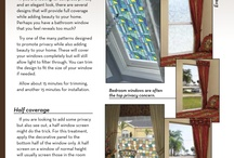 Quick & Easy Ideas for Decorating Windows / by Wallpaper For Windows