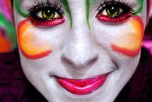 Circ du Soleir Makeup