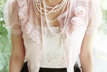 ☂FASHION: Pearls & Lace / What Better Combination Than Pearls & Lace! Delicate, Pretty & So Feminine!  / by Carla Meisberger Vaught
