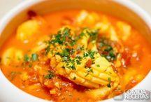 ℂℎεf Frutos do Mar ♨ / Receitas de pratos feitos com peixes, crustáceos e outros frutos do mar.