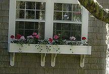 window boxes / by Kari Ann Ramsey