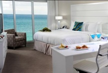 Get a Room / Upon entering any one of Sonesta Fort Lauderdale's beachfront guestrooms and suites, guests will be amazed by the stunning views of the sandy white beaches and colorful shoreline of the Atlantic Ocean, the most stunning views among Fort Lauderdale beach hotels.  All hotel rooms are furnished with either one King-sized or two Double Beds.    / by Sonesta Fort Lauderdale