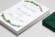Viridian / Wedding Invitation