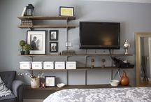 parete attrezzata tv