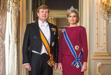 Máxima, reina de Holanda / Máxima y su esposo, Guillermo Alejandro, se convirtieron en reyes.
