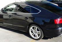 Audi A5 Oscuramento VETRI / Audi A5 Oscuramento cristalli laterali e lunotto posteriore