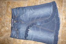 rok van jeans