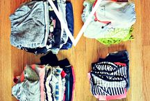 summer vacation packing