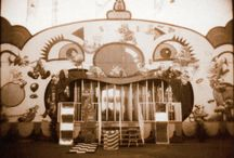 Halloween (Funhouse) / Clowns, midway games, sideshow freaks, and funhouses. This board is a Halloween concept board, lots of vintage images and current makeup tips. / by Bradley Pierce