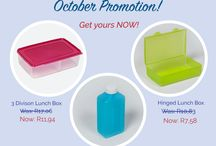 Specials / Don't miss out on our monthly tupperware specials!