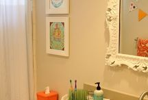 - Home - K I D' S   Bathroom / Our Southern House  / by Miranda Tucci : Our Nesting Place Blog