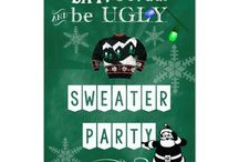 Ugly Christmas Sweater Party Customized Suite / Ugly Sweater Christmas Party Suite customizable to your specifics.
