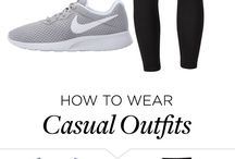 Casual outfits♥️(adidasi)