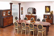 Jadalnie / Dining furniture / Jadalnie z klasą, nowoczesne i tradycyjne