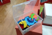 Clear storage boxes / This is ideas on how to use our clear storage boxes around the house, workplace and tool shed.